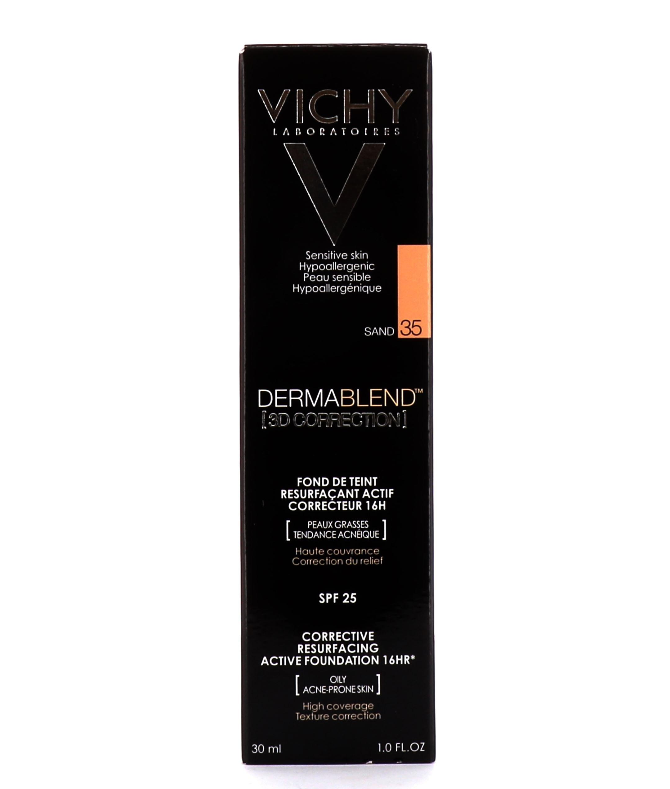 Vichy Dermablend Fond De Teint 3d Correction