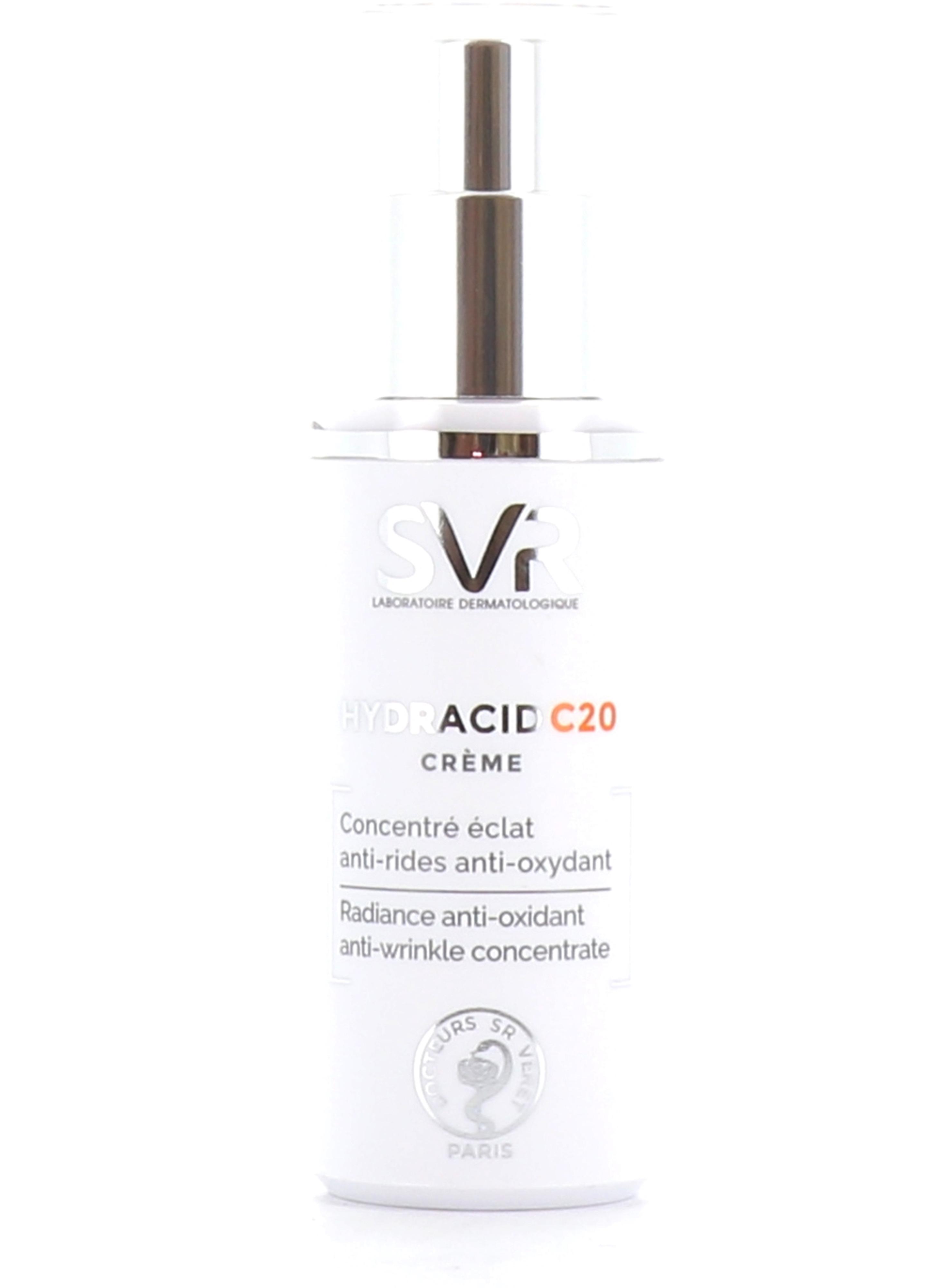 Hydracid C20 Crème - SVR - Pharmacie des drakkars
