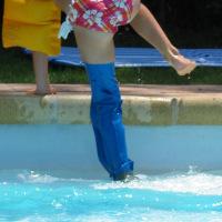 Aquatex jambe protège-plâtre