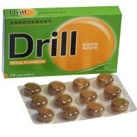 Drill enrouement 24 pastilles