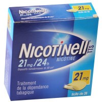 Nicotinell TTS 21mg/24h patchs transdermiques