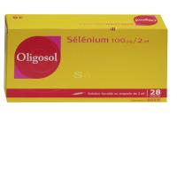 Oligosol sélénium 100 µg / 2ml