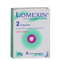 Lomexin 600mg 2 capsule molle vaginale