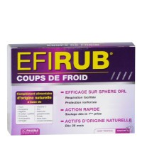 3C Pharma EFIRUB Coup de froid