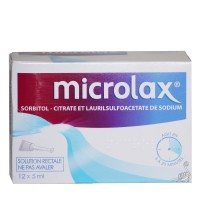 Microlax solution rectale doses