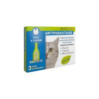 VETOFORM Antiparasitaire Pipettes répulsives Chat et chaton