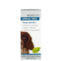 VETOFORM Solution purge pour chien Spécial vers