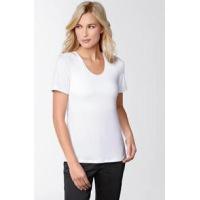 Amoena Valletta T-Shirt Blanc 70232 Noir 70231