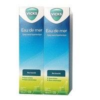 Vicks Eau de mer Nez bouché spray nasal hypertonique