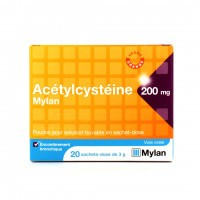 Acetylcystéine Mylan 200 mg