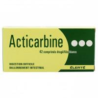 Acticarbine 42 comprimés