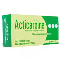 Acticarbine 84 comprimés