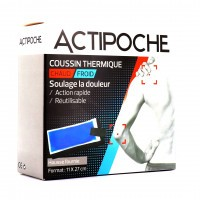 Actipoche Coussin Thermique Chaud Froid 11 x 27cm