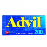 Advil 200mg 30 comprimés