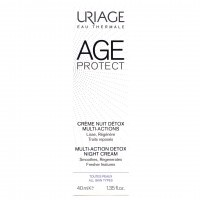 AGE PROTECT Crème nuit détox multi-actions 40ml