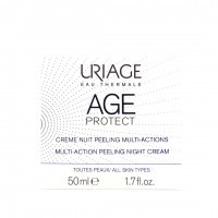 AGE PROTECT Crème nuit peeling multi-actions 50ml