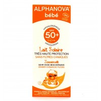 Alphanova bébé sun spf 50 + lait bio 50 g