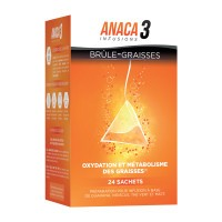 Anaca 3 Infusion Brûle-Graisses 24 sachets