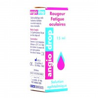 Angio Drop rougeur fatigue oculaire