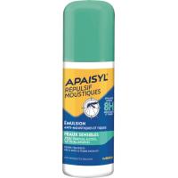 Apaisyl Répulsif Moustiques Emulsion Peaux Sensibles en 90 ml