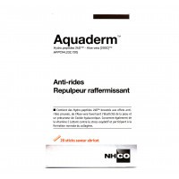 Aquaderm 20 sticks saveur abricot