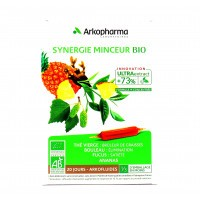 Arkofluides Synergie Minceur Bio 20 ampoules