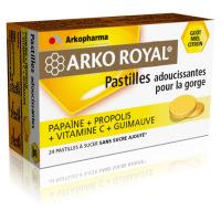 Arkopharma Arko Royal Pastilles Adoucissantes Pour la Gorge - 24 Pastilles