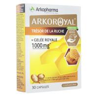 Arkoroyal trésor de la ruche gelée royale 1000mg 30 capsules