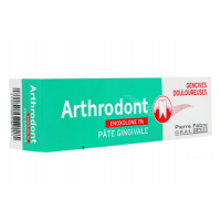 Arthrodont pâte gingivale