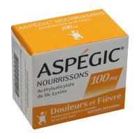 Aspegic 100 mg nourrisson poudre 20 sachets