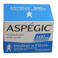 Aspegic 500 mg poudre