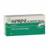 Aspirine du rhone 500mg
