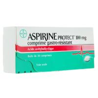 Aspirine Protect 100 mg 30 comprimés