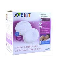 AVENT Coussinets de nuit jetables pour allaitement Boîte de 30