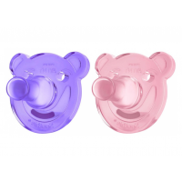 Avent Sucette Orthodontique Silicone Soothie 0-3 mois