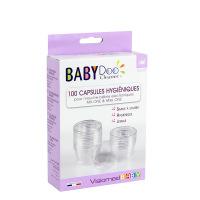 Baby Doo 100 capsules hygiéniques pour mouche bébés électroniques