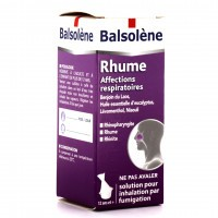 Balsolene solution pour inhalation par fumigation 100 ml