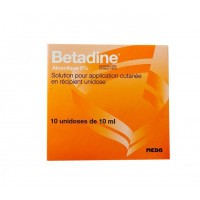Betadine Alcoolique 5% solution 10 unidoses