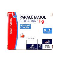 Biogaran Paracétamol 1 g 8 comprimés