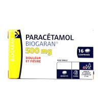 Biogaran Paracétamol 500 mg 16 comprimés