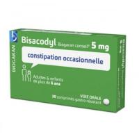 Bisacodyl 5mg Biogaran 30 comprimés