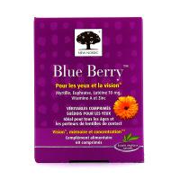 Blue Berry pour les yeux et la vision