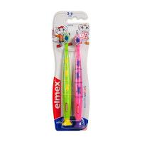 Brosse à Dents Enfant 3-6 ans Lot de 2