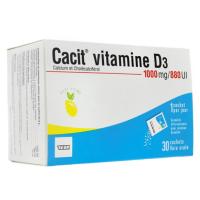 Cacit Vitamine D3 1000mg / 880UI sachets