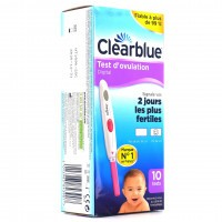 Clearblue Test d'ovulation Digital Boite de 10 Tests