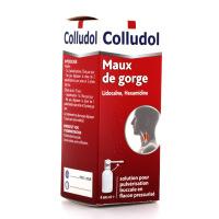 Colludol collutoire maux de gorge