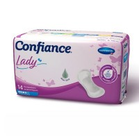 Confiance lady taille 4 - 14 protections anatomiques