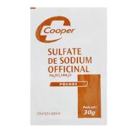 Cooper Sulfate de Sodium Officinal Poudre