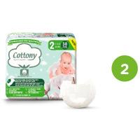 Cottony - Couches 100% Coton Biologique