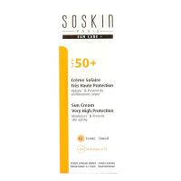 Crème solaire très haute protection SPF 50 + teinté